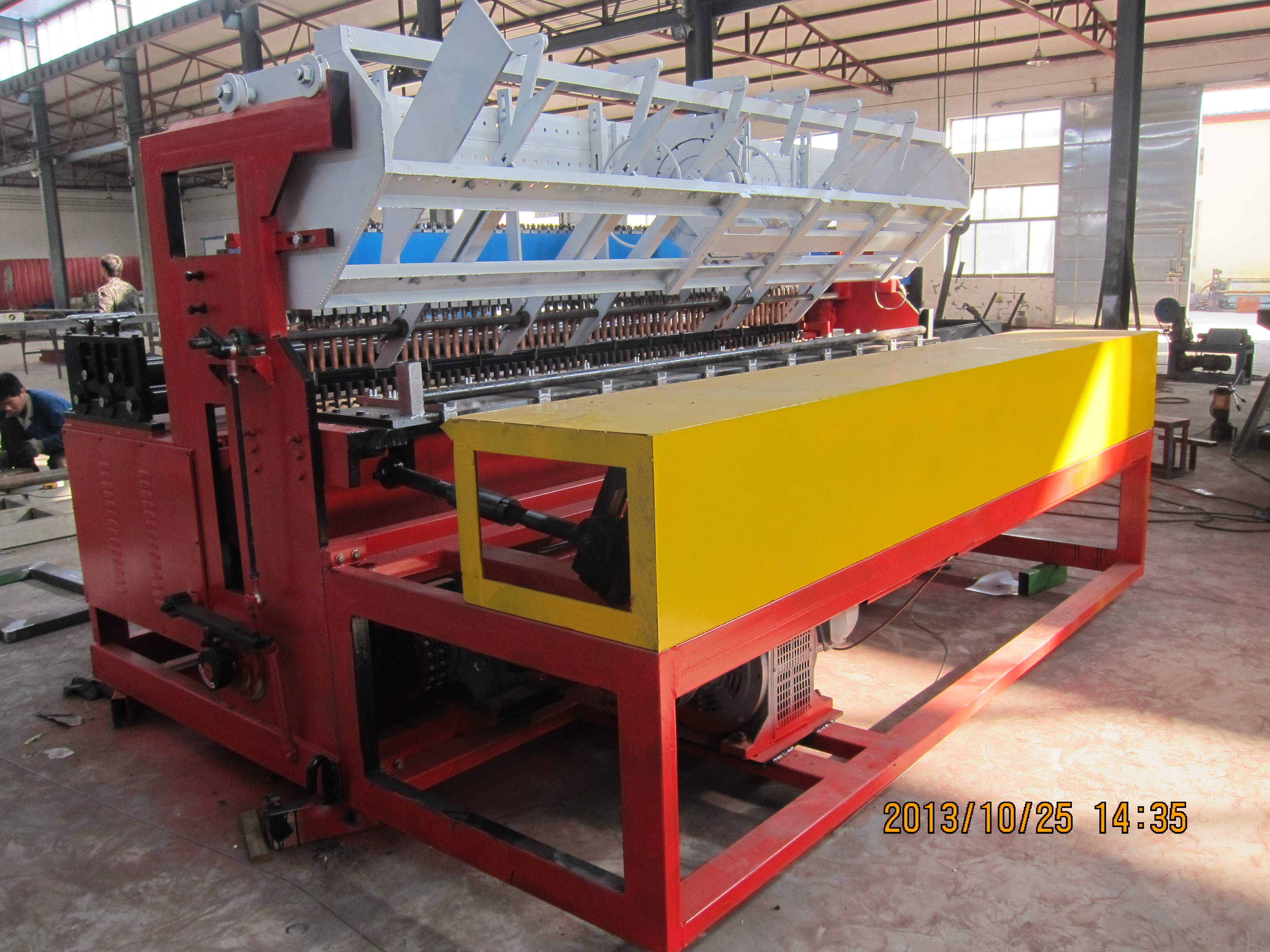 What's The Price Adjustable Mesh Welding Reinforcing Mesh Machines?