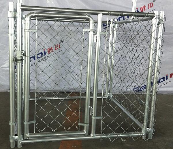 chain link fence dog cage